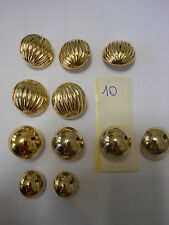 lotto 11 bottoni Vintage  (10) Knoepfe Boutons Buttons