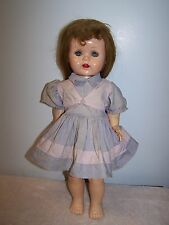 "Vintage Ideal Saucy Walker Doll 16"" Walker From Original Owner"