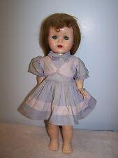 """Vintage Ideal Saucy Walker Doll 16"""" Walker From Original Owner"""