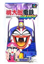 Jeu SNES Momotarou Densetsu Happy Nintendo Super Famicom En boite Japonais