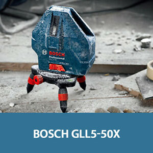 Bosch GLL 5-50 X Professional 5Line Laser Level Measure Self Leveling IP54 / UPS