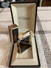 -!!! S.T. Dupont-Feuerzeug mit Chinalack und Fein-Gold-Staub, guter Zustand !!!-