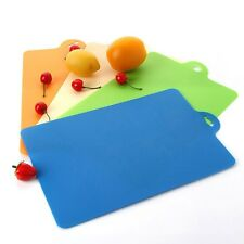 Flexible Colour Plastic Cutting Board Chopping Mat