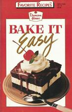Duncan Hines BAKE IT EASY Small Cookbook Favorite Recipes #32 1991