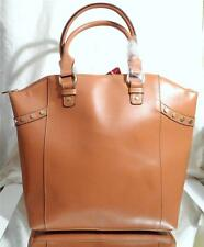 BRAND NEW LARGE BROWN/TOFFEE HAND BAG - LEAH STATEMENT TOTE