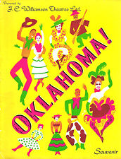"Rodgers & Hammerstein ""OKLAHOMA!"" Melbourne, Australia 1949 Souvenir Program"
