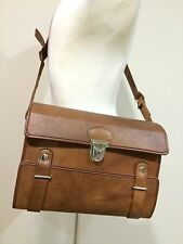 Rare Vintage 70's Fidelity Leather Camera Shoulder Bag