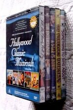 HOLLYWOOD CLASSIC MUSICALS, VOLUME 1 (5-DVD SET) R-ALL, NEW, FREE SHIPPING