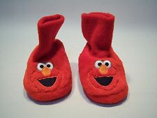Vintage Sesame Street Elmo Slippers Toddlers Size 1-2