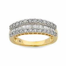 Unbranded Diamond Yellow Gold Fine Rings