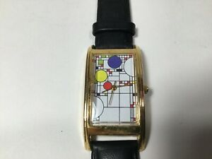 "Vintage ACME Studio ""Playhouse"" Curvex Style Wrist Watch by FRANK LLOYD WRIGHT"