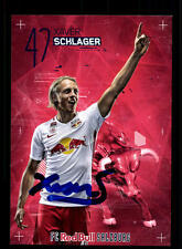 Xaver Schlager Autogrammkarte Red Bull Salzburg 2016-17 Original Sign+ A 137583