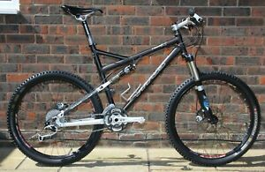 Titus RACER X full suspension ( FSR ) mountain bike size large.