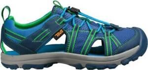 TEVA Big Boy's Size 7 Manatee Navy Blue Green Summer Sandals Water Shoes