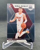 2019-20 Panini Mosaic Tyler Herro RC NBA Debut Base Non Silver Prizm Miami Heat