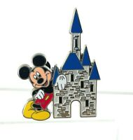 Authentic Walt Disney Mickey Mouse Castle Pin 4 Arks One World 59718