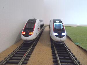 NEW éclairage inversé BLANC & ROUGE POUR TGV INOUI MEHANO DIGITAL neuf