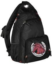 Horse Lover Sling Backpack BEST SINGLE STRAP Cute Horseshoe Design GIFTS Gift