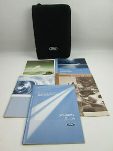 2008 Ford Explorer Zip Case and 5 Manuals / Guides - NO Owners Manual