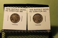 GREAT VALUE , TWO better date Buffalo Nickels.