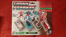 Transformers Micromaster Autobot Rescue Patrol MOC 1988 G1 Sealed Card NICE!