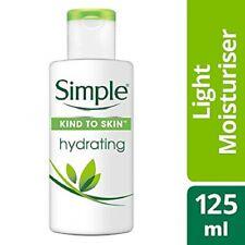 Simple Hydrating Light Moisturiser 125ml-Moisturised & hydrated for up to 12 hr