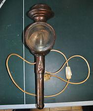Originale antike Kutschenlampe / Lampe / Wandlampe / Signallampe / Schlitten