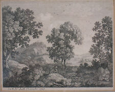 Original 18th century copperplate print. George and John Smith Chichester 1767