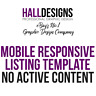 eBay Listing Template Mobile Responsive Design Service 2019 Compliant