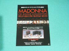 MADONNA Promo Flyer For 40 x CD Single Collection BOX Japan WPDR-3100/39