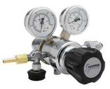 Harris Kh1021 Specialty Gas Regulator Two Stage Cga 350 0 To 50 Psi Use
