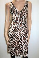 JV SELECTION Brand Animal Print Wrap Around Dress Size 10 LIKE NEW #AN02