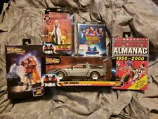Back To The Future Neca Lot 5 Figures Delorean Biff Marty Doc +More Sealed New!