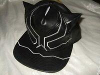 Adult Marvel Comics The Black Panther Ears Snapback Hat Cap Movie superhero New