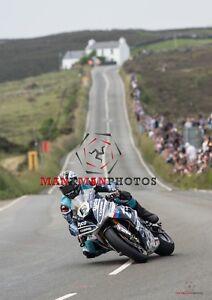 Michael Dunlop   2018 Isle of Man TT Senior Race  A4 size photo