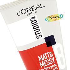 L'Oreal Loreal Studio Matt and & Messy Shine Free Fibre Paste STR8 150ml