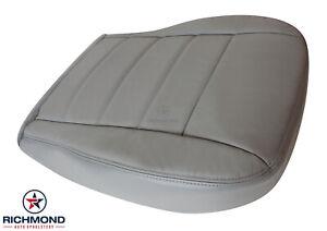 2006 Dodge Magnum R/T 5.7L V8 HEMI -Driver Side Bottom Leather Seat Cover Gray