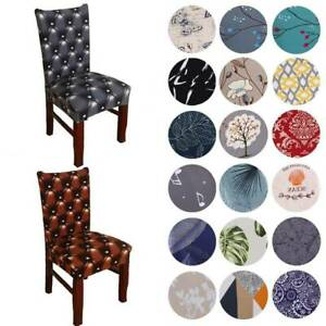 Universal Stretch Chair Covers Wedding Banquet Dining Room Seat Cover Slipcovers