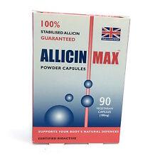 Allicin Max ALLICINMAX  - 90 Vcaps Powder Capsules Stabilised Allicin