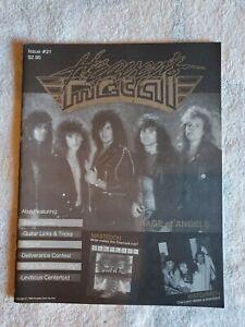 Heavens Metal magazine Number Issue 21 1989 Barren Cross Stryper Deliverance...