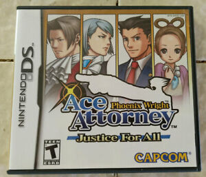 Phoenix Wright: Ace Attorney Justice for All (Nintendo DS, 2007)