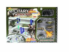 ZERBO TRACK SET Military Racing Tracks Playset Track