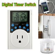 T319 Programmable Plug-in Light Timer for Electrical Outlet Indoor Timer MA