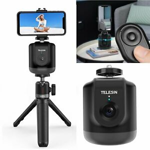 360° Rotation Panoramic Tracking Tripod Head Remote Controller for Video Vloging