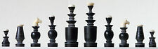 Stylish Regence Chess Set in Horn/natural  K = 72mm