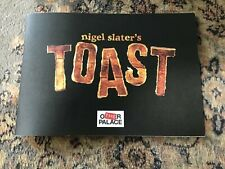 TOAST LONDON THEATRE PROGRAMME SIGNED BY CAST