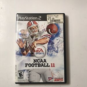 NCAA Football 11 PS2 Complete ! Tim Tebow Cover 2010 Sony Playstation 2 PS2 Rare