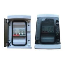 Garage Caravan Shed Consumer Unit Fuse Board 100A Main Switch + 2 MCB's 6A 32A