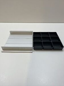 THE CUBE BY SMILE LINE, BERGEON ADDITIONAL DRAWER TRAY & INSERT, 9 COMPARTMENTS