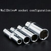 Schwerlast Sockel 1/4'' Tiefer Erhöhte Kontakt Bereich 4-14mm, 6-kant 50mm